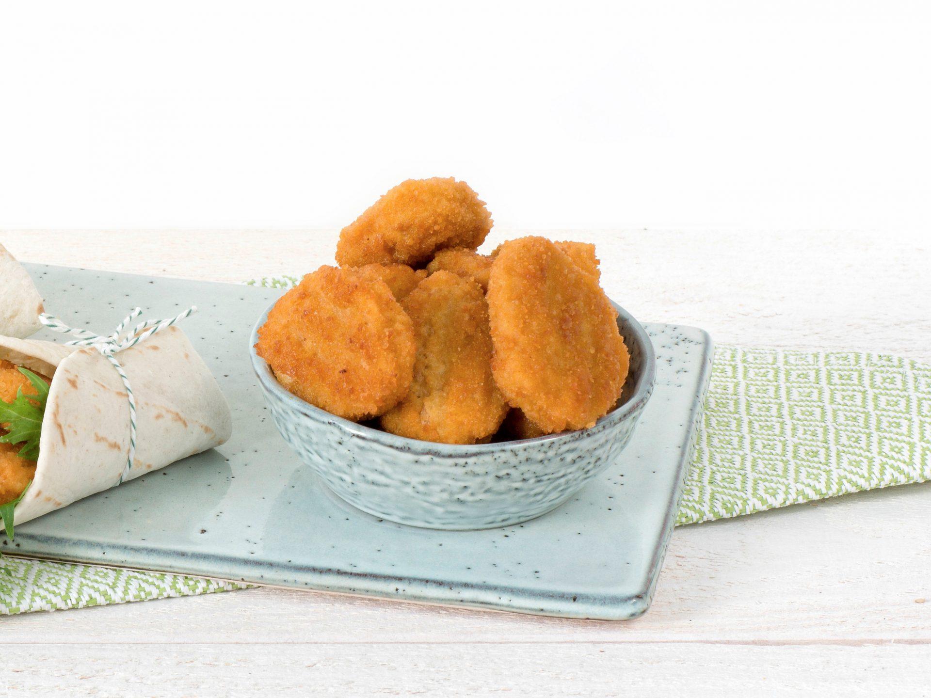substitut de viande: Les nuggets végétarien