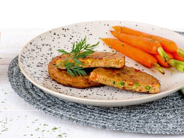 Meat substitute: vegetarian Vegetable Burger