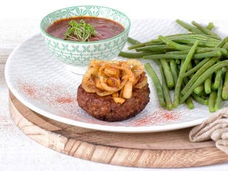 Meat substitute: Vegetarian Mince Patty