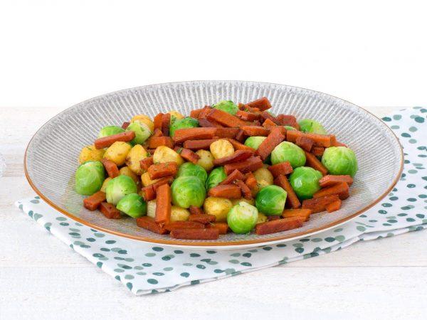 substitut de viande: facon lardons vegetariens