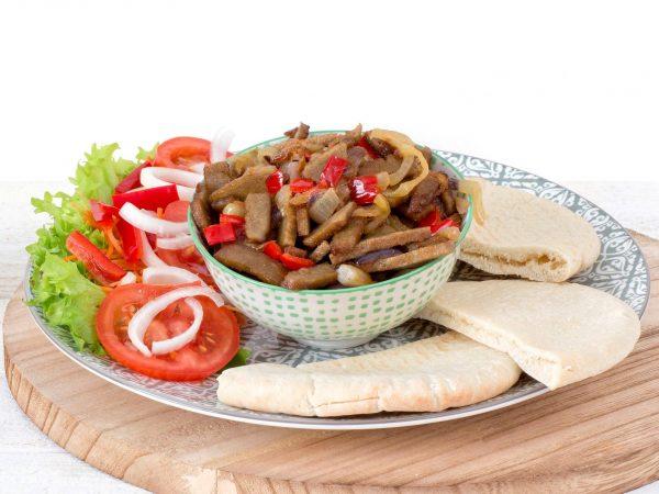 Meat substitute: VegetarianShawarma