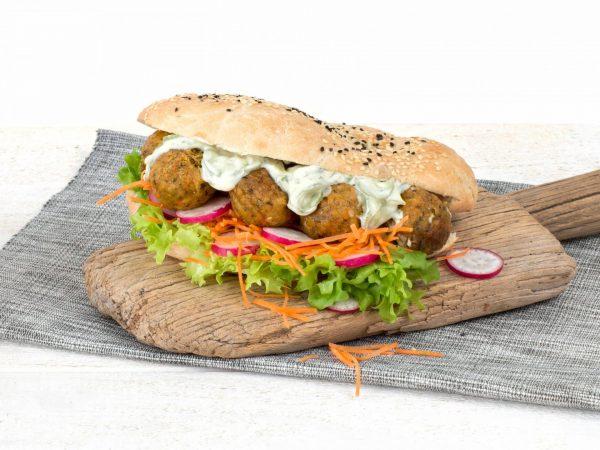 Meat substitute: Vegan Falafel