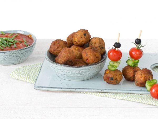 Meat substitute: Vegetarian Vegetable Ball