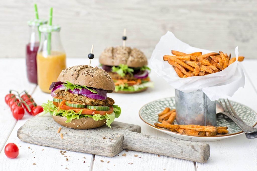 Vegetarian and vegan products
