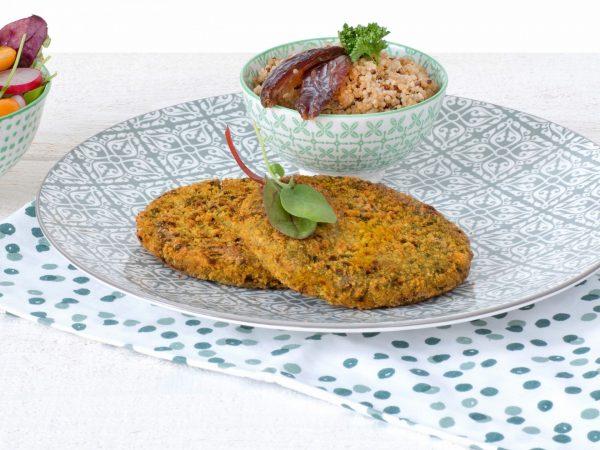 Fleischersatz: veganer Linsen-Burger