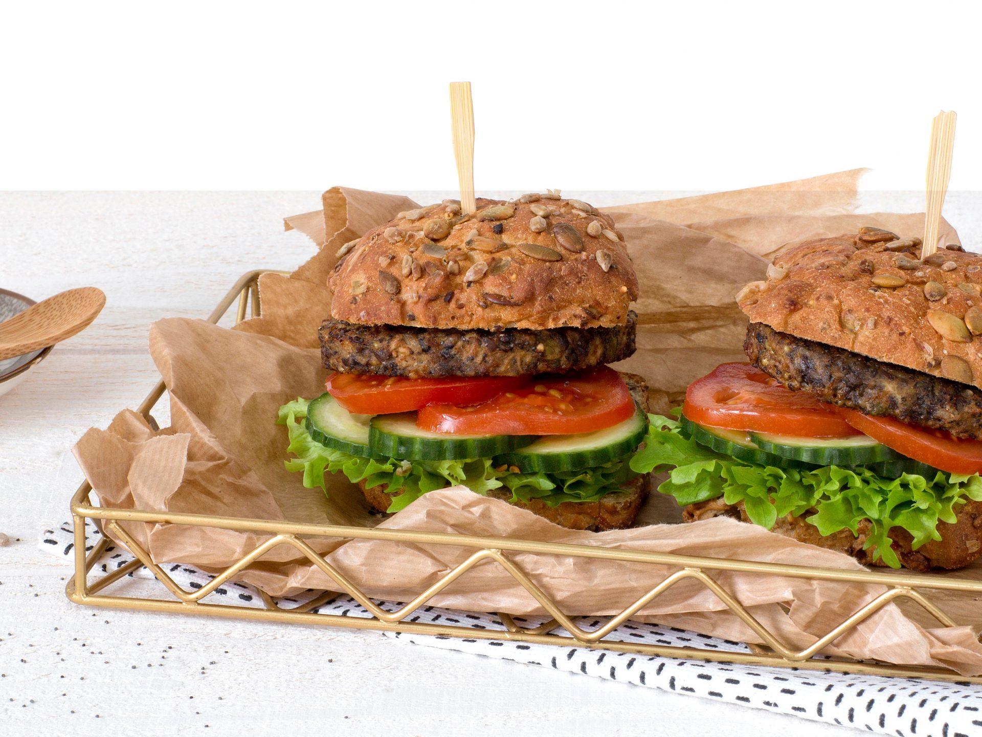 Fleischersatz: Der vegetarische Saaten Burger