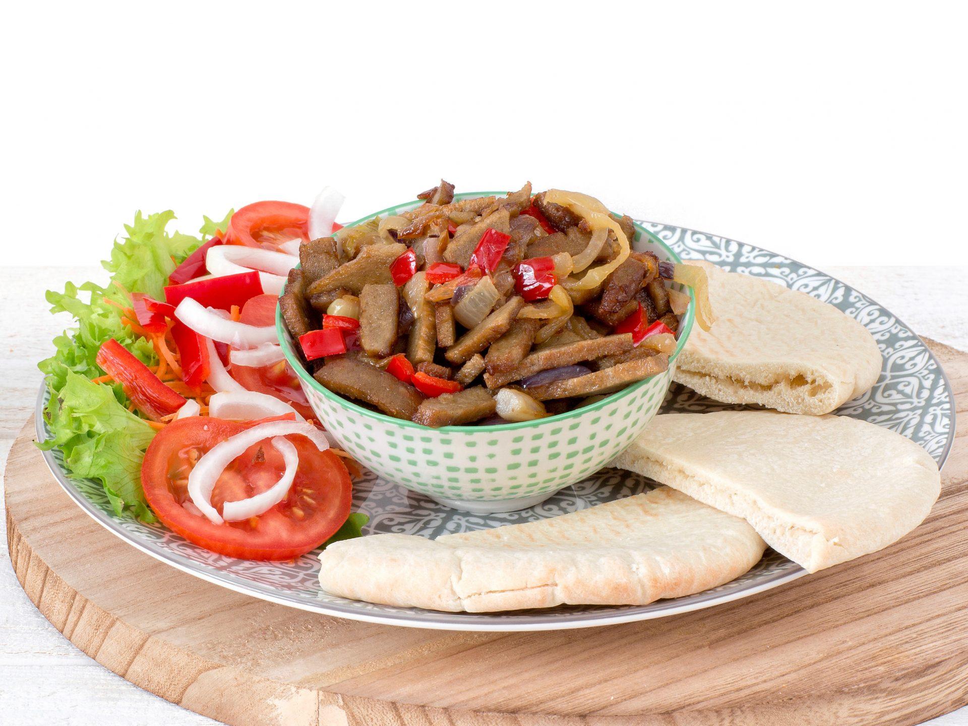 Fleischersatz: vegetarische Shawarma